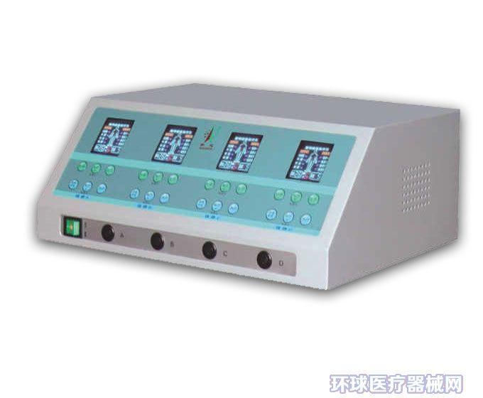 产品标准:YZB/粤 0025-2013《电脑中频经络通治疗仪》 产品性能结构及组成 :由主机、电极、远红外线热疗带、定向透药治疗电极、激光头和超声波治疗头组成。 规格型号: QX2001-AI(颈椎专用型)、QX2001-A、QX2001-A、QX2001-BI、QX2001-B、QX-236、QX-238、QX-263、QX-265、QX-266、QX-268、QX-301、QX-302、QX-311、QX-312、QX-321、QX-322、QX-323、QX-325、QX-511、QX-512、Q