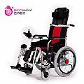 供应吉芮电动轮椅303可折叠电动抬腿电动靠背老年人代步车