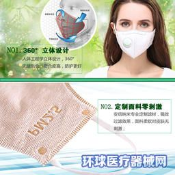 纳米银抗菌口罩