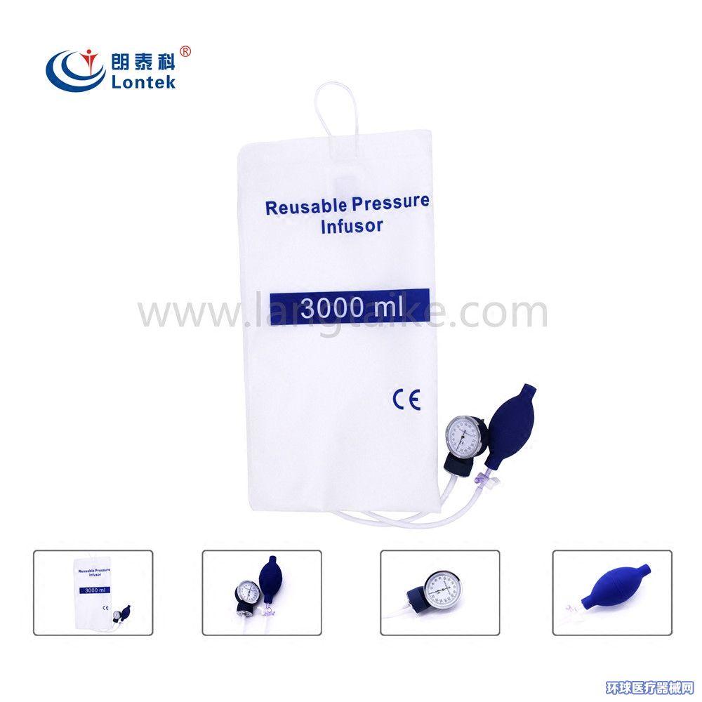 3000ml加压输液袋输血输液加压袋输液输血袋加压器