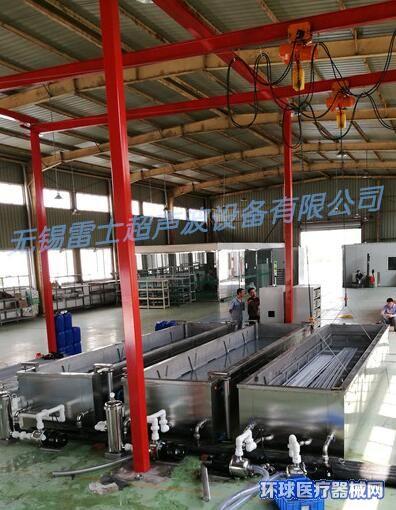 中心供氧室氧气管输氧管加工清洗设备