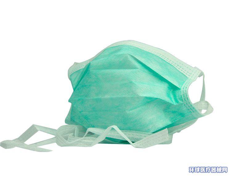 卫生福泽龙厂家直销一次性医用外科口罩耳挂式和绑带式