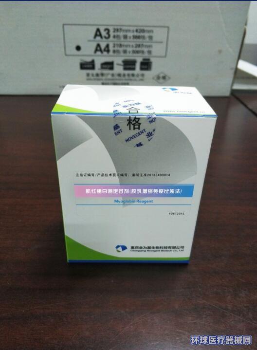肌红蛋白测定试剂(胶乳增强免疫比浊法)