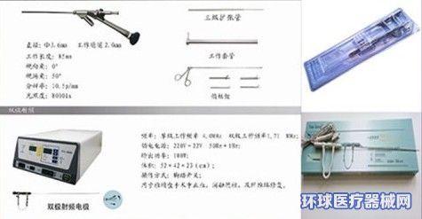 椎间孔镜双极射频电极刀头(使用说明书)