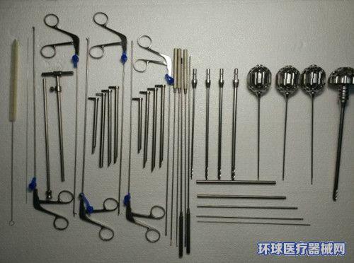 椎间孔镜髓核钳(杯型头、异物钳、活检)