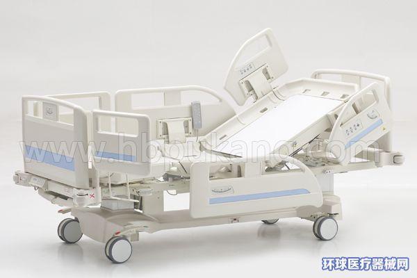河北普康DA-7多功能电动病床icu病室家用护理养老护理床
