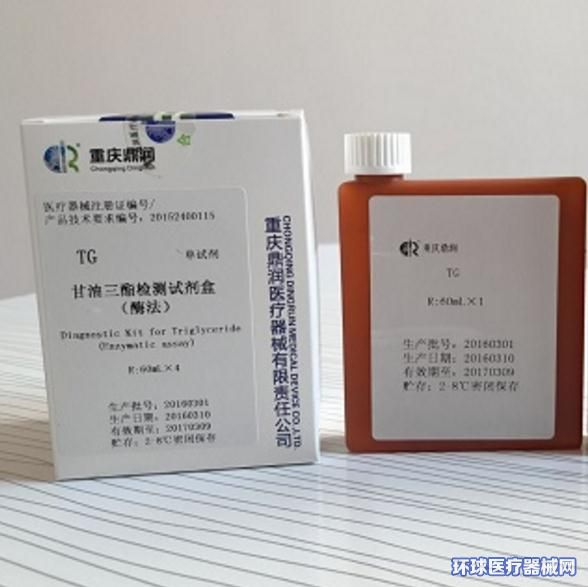 甘油三酯检测试剂盒(酶法)
