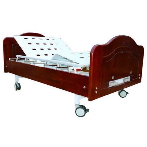 德朗DL-1108电动家居式病床(木质多功能家用护理床)