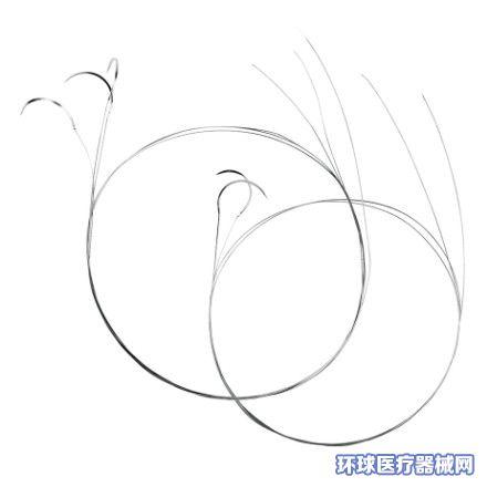 泰瑞欣镍钛形状记忆合金缝合线带针(镍钛组织吻合器)