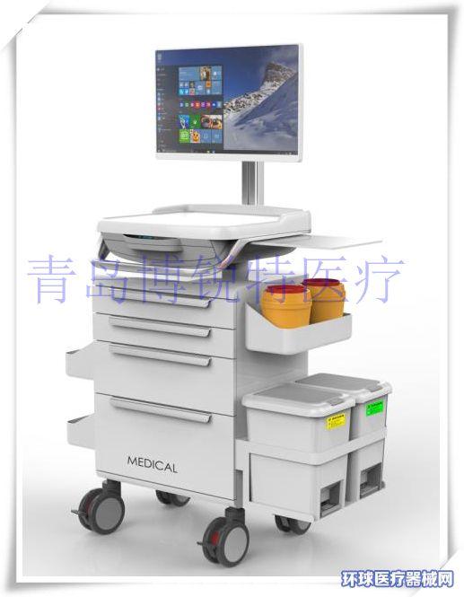 护理工作站护士推车移动护理车信息化工作站