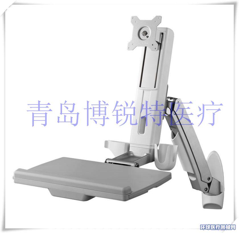 信息化电脑支架手麻系统支架重症监护系统支架折叠电脑支架