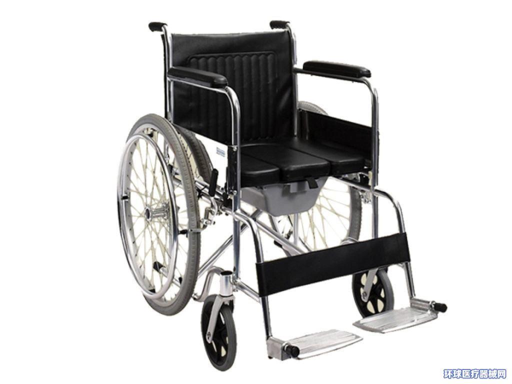 温州残疾人老年人骨伤康复护理轮椅推椅带便孔
