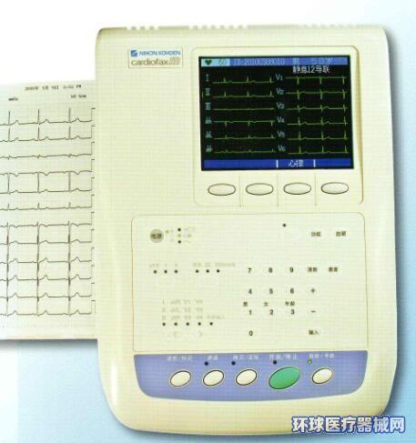 日本光电心电图机ECG-1350
