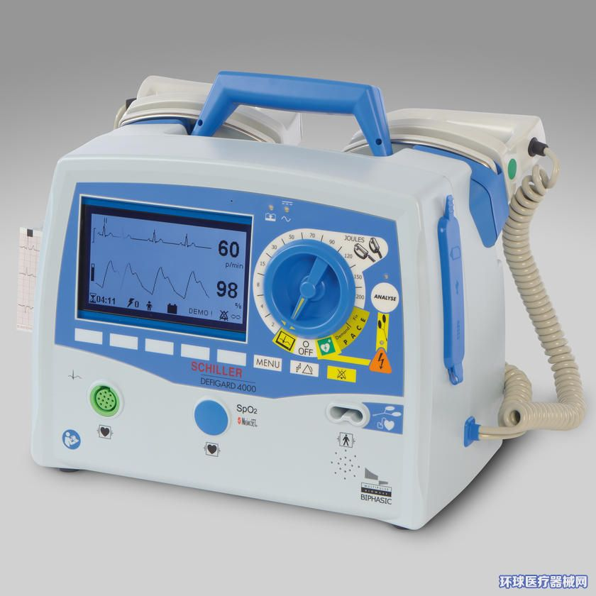 席勒DG4000体外除颤仪(法国进口除颤监护仪)