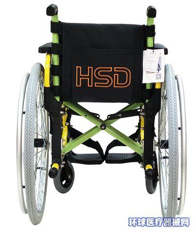 多功能张力带靠背轮椅