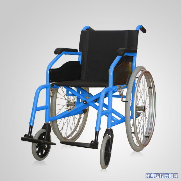 普通铝合金轮椅