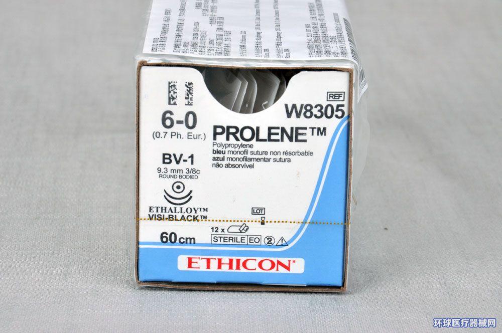 美国强生ETHICON缝合线W8305