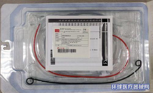 美国库克COOK双猪尾硅胶输尿管支架133826