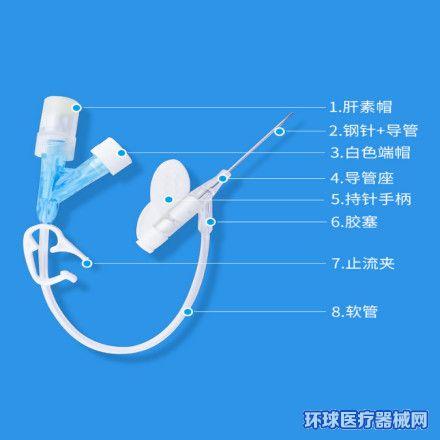 东贝Y型一次性使用静脉留置针(新生儿/儿童/成人)