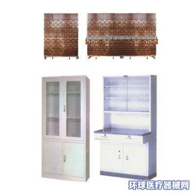 德朗医用中药柜/药品柜/不锈钢针剂柜/麻醉柜/玻璃柜