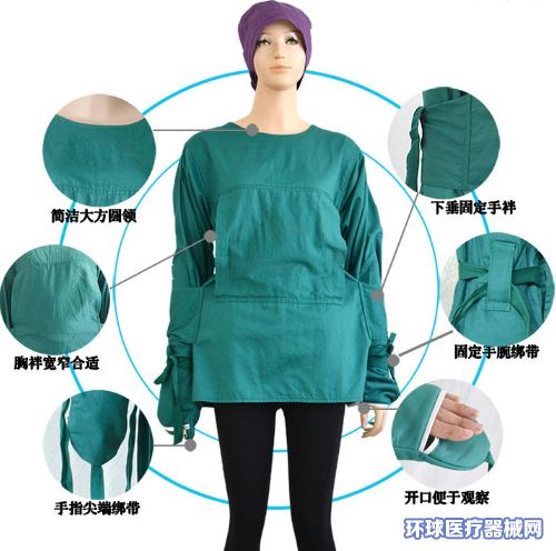 APN医用安全衣(精神病人/躁动患者约束衣服)