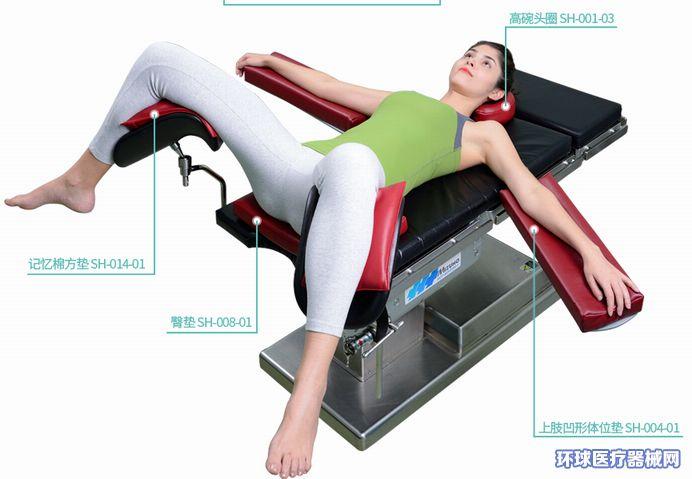 蒙泰APN截石位海绵手术体位垫解决方案