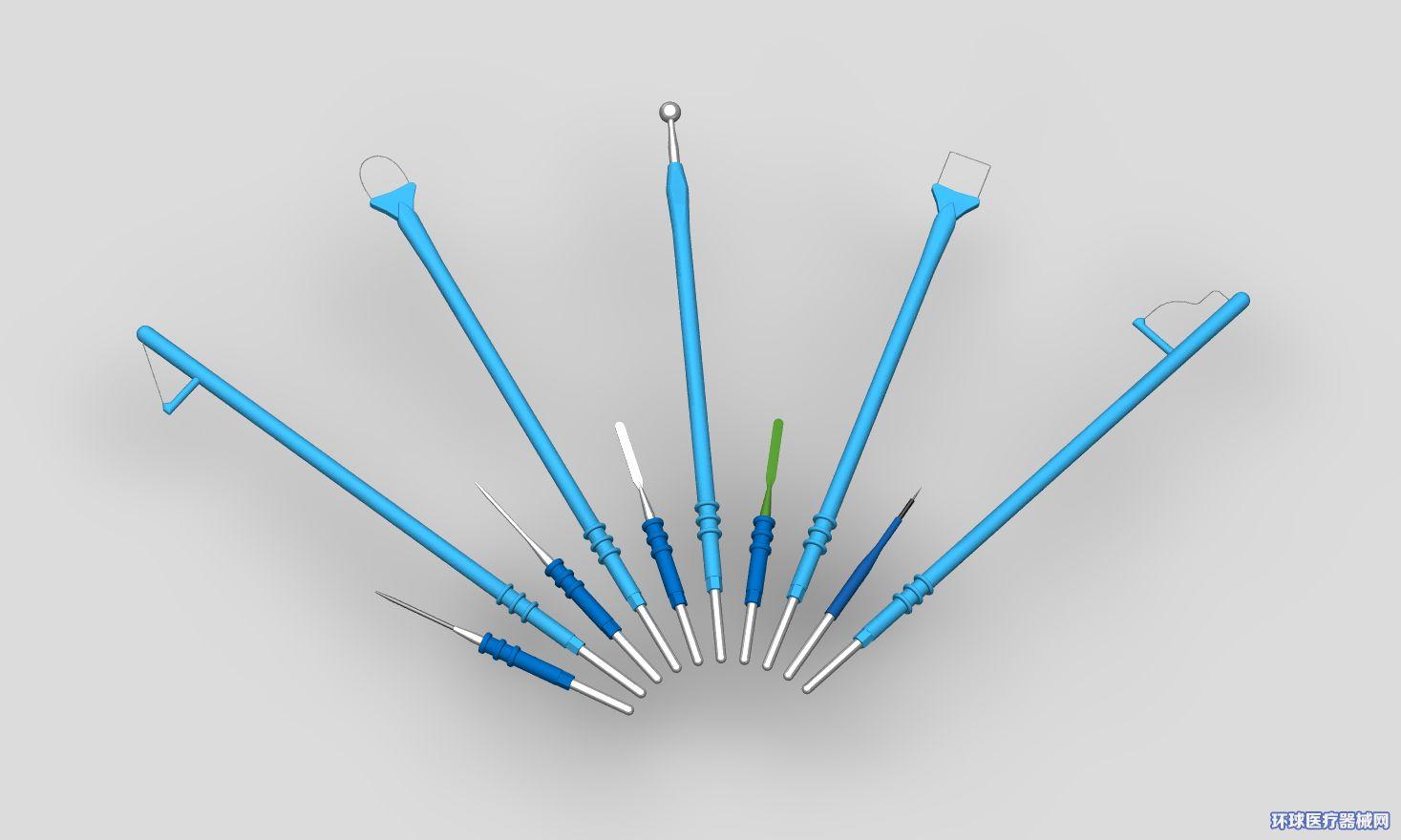 消融电极(高频钨针电极/刮吸刀/利普刀刀头/双极电凝镊)