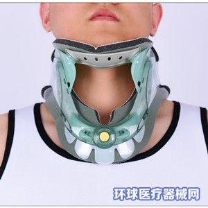 批发颈部保护可调式旋钮颈托调节颈部理疗护颈康复固定