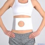 腹带-造口腹带全弹力造口造篓腹部固定带