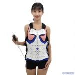 世康恒达可调式胸腰椎固定支具高位透气型内置气囊款批发销售