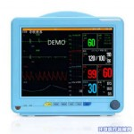 多参数监护仪(无创血压/心电/血氧/呼吸/体温监测仪)