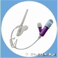 一次性使用无针密闭输液接头保护器